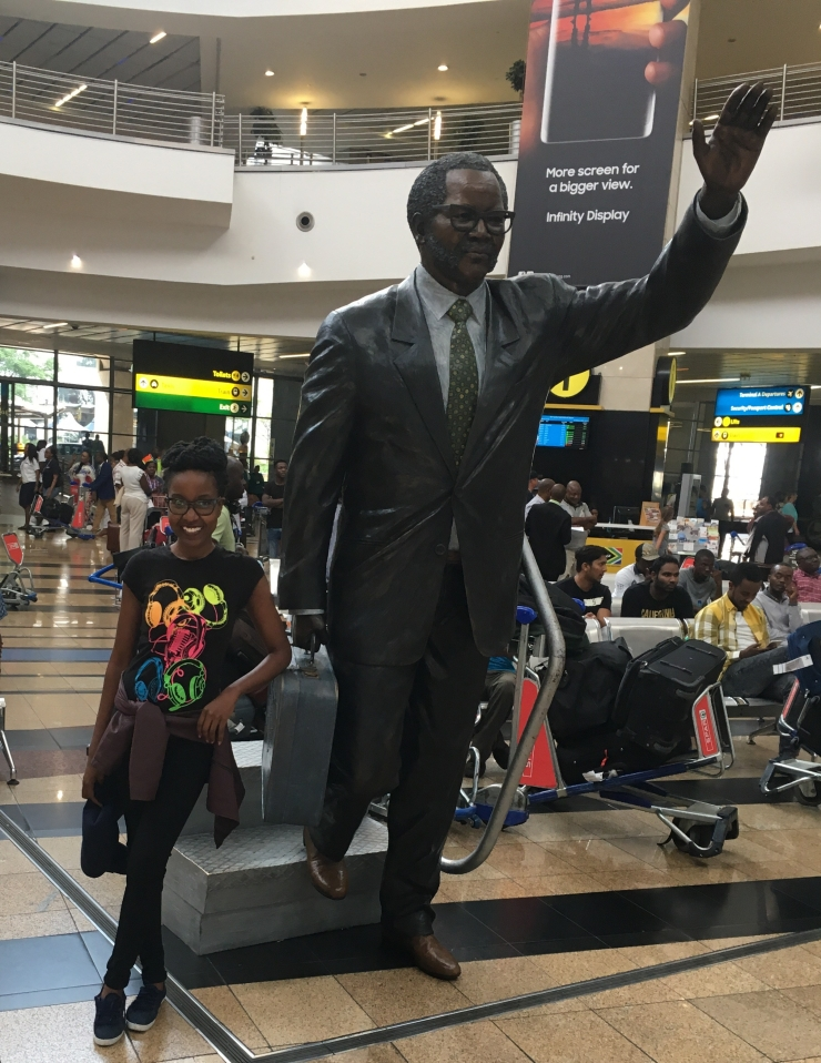 Touch Down at Oliver Tambo Airport