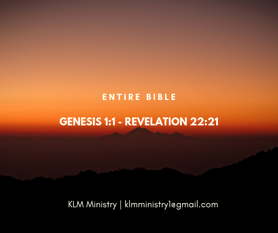 KLM Ministry Entire Bible