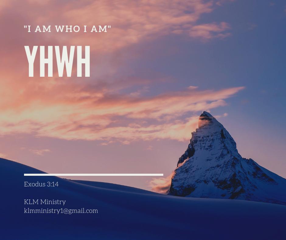 KLM Ministry YHWH